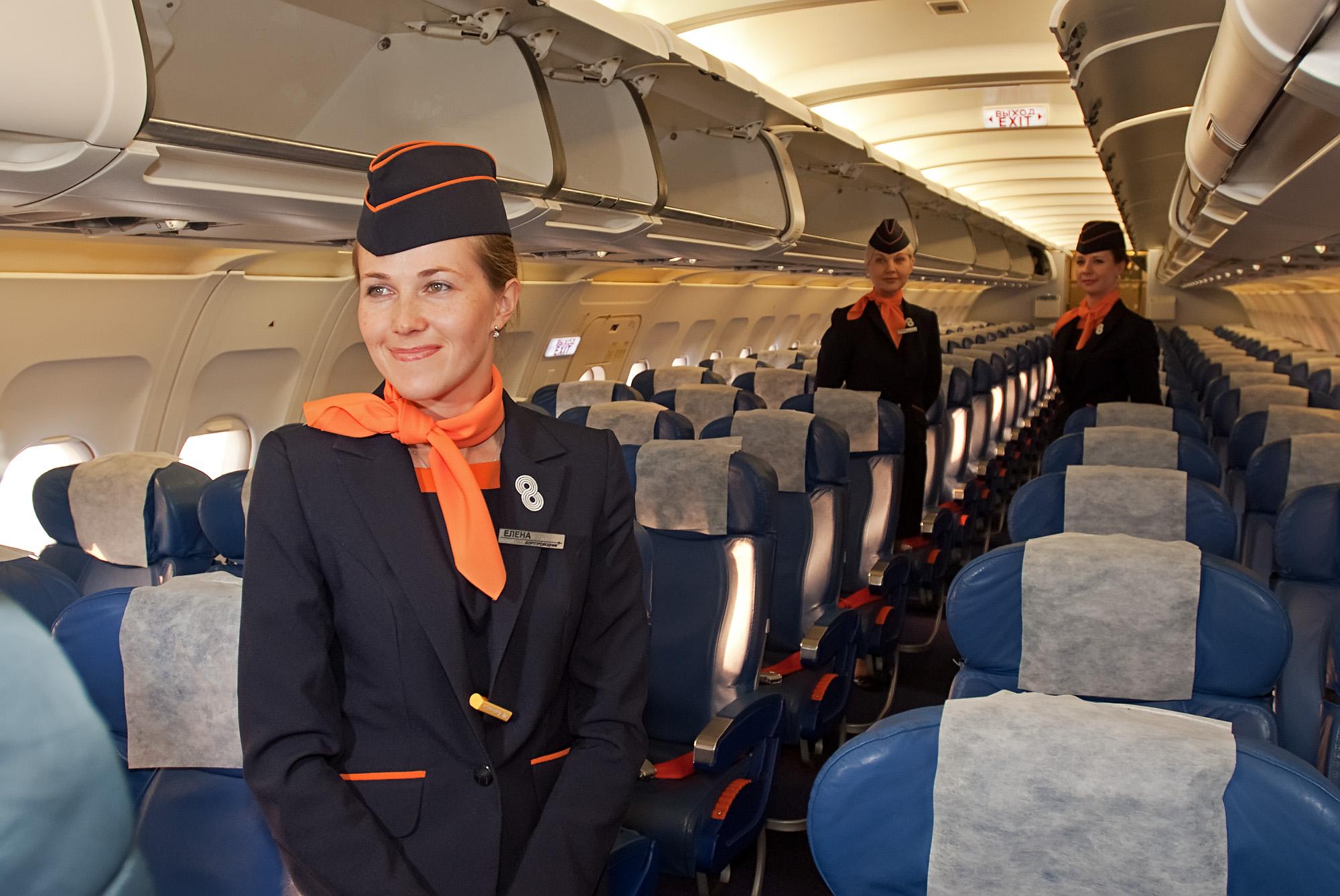 трех салон самолета авиакомпании аврора фото отзывы выпускается разного