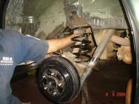 Паджеро ио ремонт ходовой своими руками 88